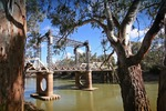 Koondrook Bridge, River Murray, New South Wales