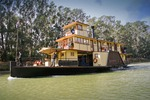 Emmylou paddle boat at Echuca on the Murray River, Victoria