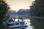 Sunrise over the Murray River at Echuca, Victoria