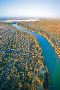 Murray River aerial