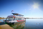 Paradise Queen moored at Lake Mulwala, Yarrawonga, Victoria