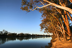 Sunset over the Murray River, Merbein, Victoria