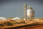 Wheat silos, Pinnaroo, Mallee, South Australia