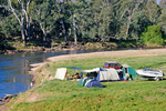 Camping near Corryong, Victoria
