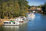 Echuca Wharf, Houseboats and Paddle steamers, Victoria