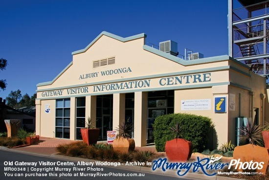 Old Gateway Visitor Centre, Albury Wodonga - Archive image