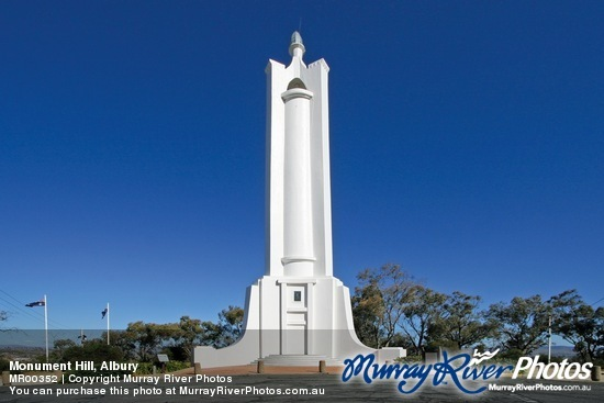 Monument Hill War Memorial - Albury