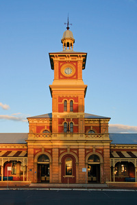 Albury Railway Station, New South Wales