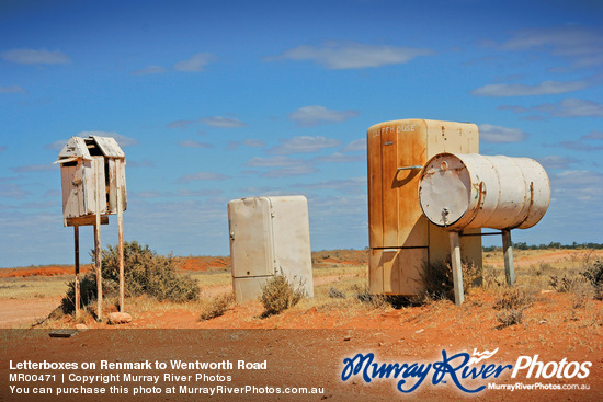 Letterboxes on Renmark to Wentworth Road