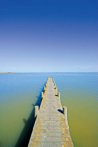 Jetty on Lake Albert, Meningie