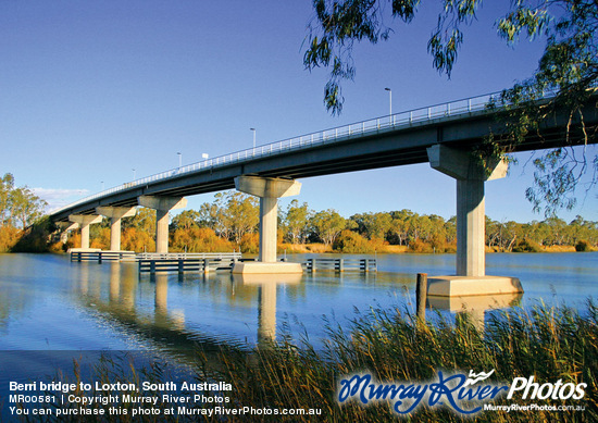 Loxton Australia  city photo : Berri bridge to Loxton, South Australia