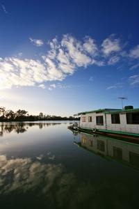 Houseboat at Moorook, South Australia