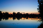 Sunrise at Abbotsford Bridge, Curlwaa, New South Wales