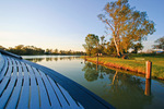 PS Coonwarra deck at Wentworth, New South Wales
