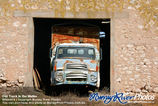 Old Truck in the Mallee