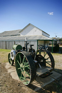 Old tractor at Kerang Museum, Victoria
