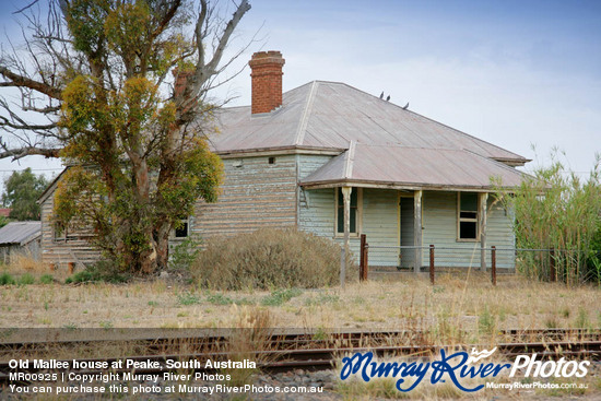 Old Mallee house at Peake, South Australia