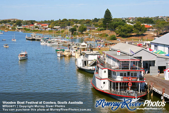 Wooden Boat Festival at Goolwa, South Australia