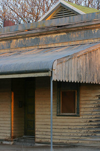 Old style building of Cowangie, Mallee, VIctoria