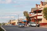 Main street of Pinnaroo, South Australia
