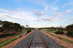 Railway lines in the Mallee, Victoria
