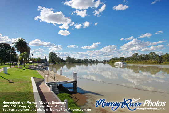 Houseboat on Murray River at Renmark