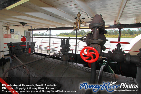 PS Industry at Renmark, South Australia