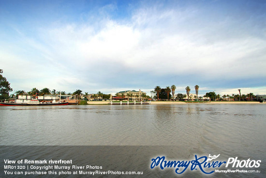 View of Renmark riverfront