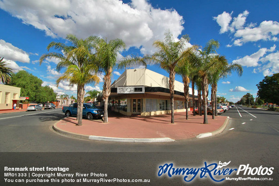 Renmark street frontage
