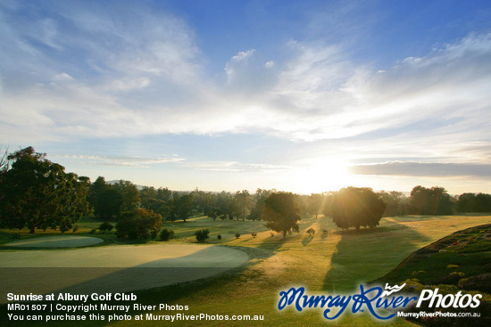 Sunrise at Albury Golf Club