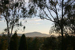 Sunrise over the foothills of Albury, New South Wales
