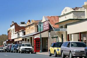 Chiltern streetscape, Victoria : www.MurrayRiverPhotos.com.au