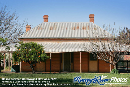 House between Corowa and Howlong, NSW