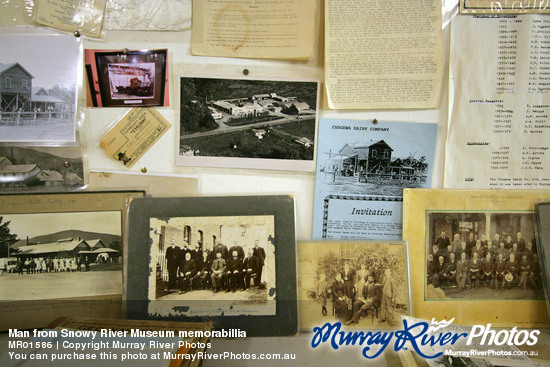Man from Snowy River Museum memorabillia