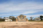 Karoonda windmill sculpture, South Australia