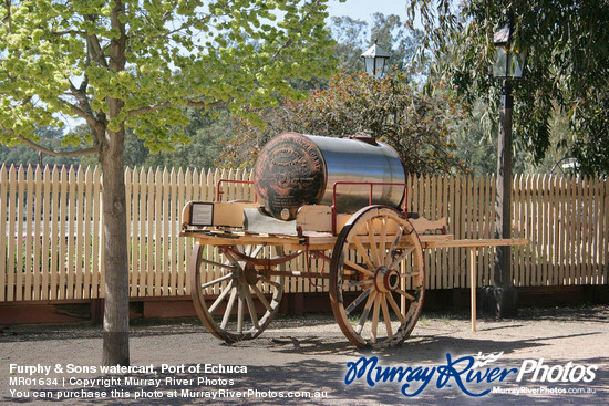 Furphy & Sons watercart, Port of Echuca
