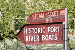 Historic Port River Boats sign, Echuca