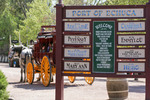 Port of Echuca entrance sigh, Victoria