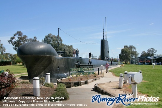 Hollbrook submarine, New South Wales