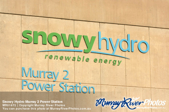 Snowy Hydro Murray 2 Power Station