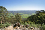 View from Mt Granya, Victoria