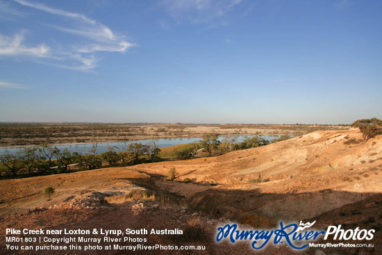 Pike Creek near Loxton & Lyrup, South Australia