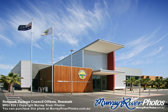 Renmark Paringa Council Offices, Renmark
