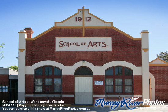 School of Arts at Wahgunyah, Victoria