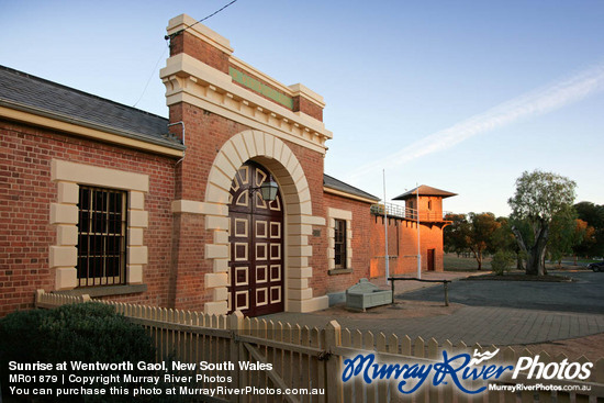Sunrise at Wentworth Gaol, New South Wales