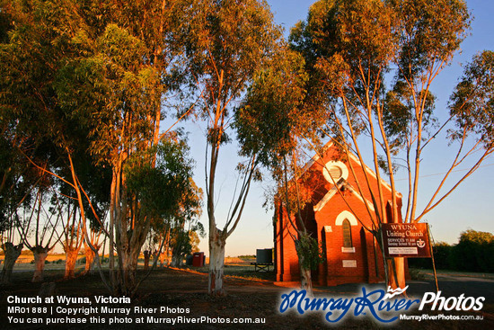 Church at Wyuna, Victoria