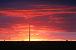 Sunset near Murrayviille, Mallee, Victoria