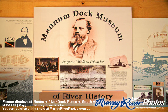 Former displays at Mannum River Dock Museum, South Australia