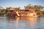 PS Mundoo on sunset cruise, Mildura