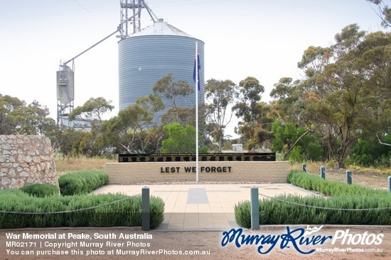 War Memorial at Peake, South Australia